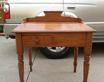 Antique Cherry Desk from the Late 1800s