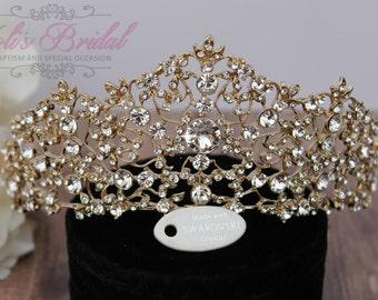 Swarovski Tiara, QuinceaneraTiara, CristalTiara ,Wedding Tiara ,Crown , Princess Tiara, Quinceanera, Cristal Headpiece, Corona, XV Tiara