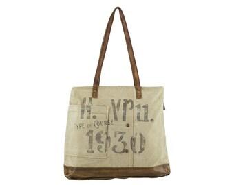 Sunsa woman Shopper Handbag canvas bag shoulder bag Artno.: 51802