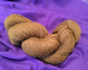 Luscious Light Brown 100% Alpaca Yarn
