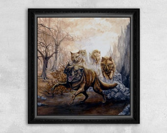 The Pack - Wolf Print