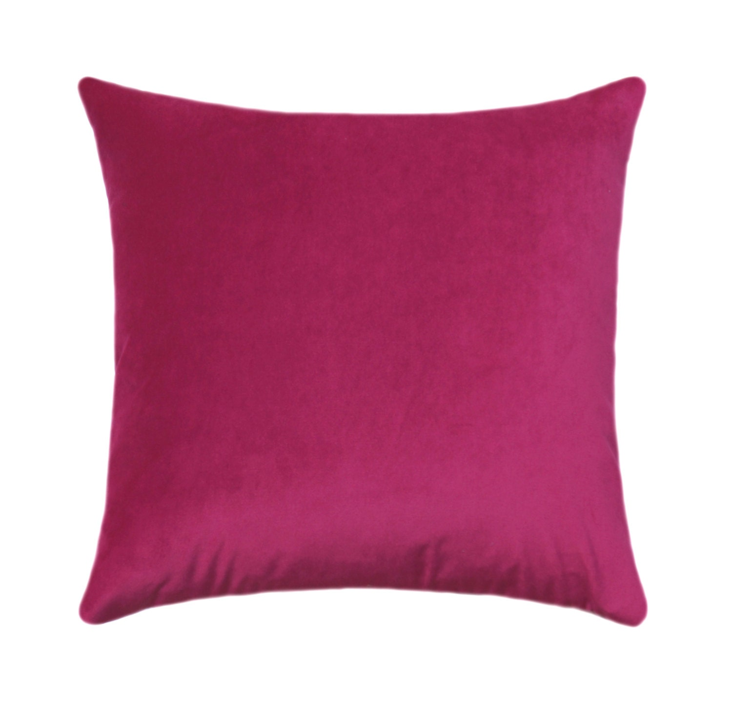 hot pink pillow cover velvet throw pillow pink velvet. Black Bedroom Furniture Sets. Home Design Ideas
