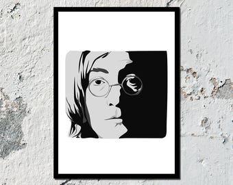John Lennon high quality poster (A5, A4, A3)