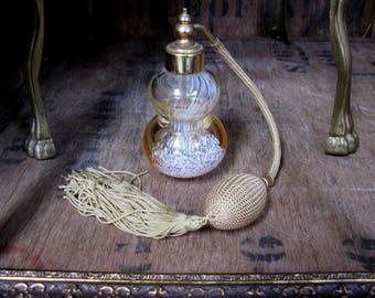 Perfume Bottle, Vintage Perfume Bottle, Scent Bottle, Glass Bottle, Glass Scent Bottle, Perfume Atomizer, Atomizer Bottle, Perfume Atomiser