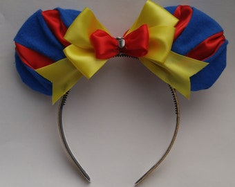 Princess Snow White Inspired Mickey Ears
