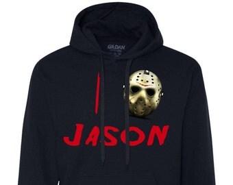 I Heart Jason Voorhees - Mens Fleece Hoodie Sweatshirt