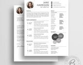 Creative Resume Template 01 - Cover Letter Template - MS Word Resume Template - CV Template - Creative Resume Template