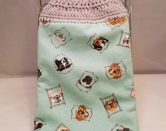 On sale- Hanging Kitchen Towel- All pups