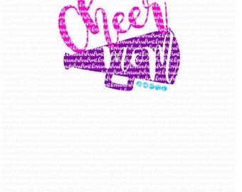 Cheer mom svg(svg043), svg files, cheer svg, cheerleading svg, cheer clipart, cheer mom clipart