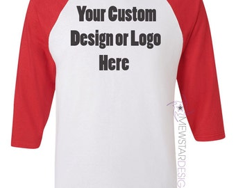 Personalized tees matching shirts printed tees custom for Customize your own baseball shirt