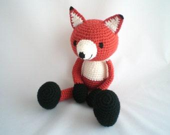 Crochet Fox / Amigurumi Fox / Crochet Fox Plush Toy / Amigurumi Fox Plush Toy / Crochet Plush Toy / Fox Plush Soft /
