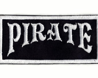 Pirate patch Iron on Patch