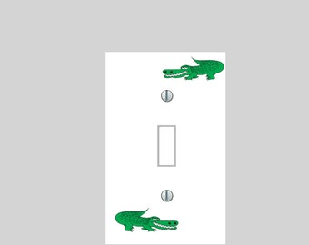 light switch plate cover alligator gator switch