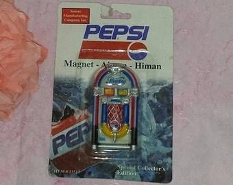 Vintage Pepsi Magnet,Pepsi Cola, Soda Pop, Pepsi Advertising,Pepsi  Refrigerator Magnet,Pepsi Jukebox Magnet,33512,New in Original Package