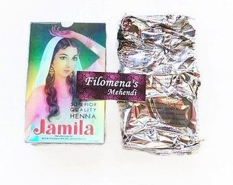 Jamila Henna Powder Summer Crop 2015, Henna, Henna kit, Henna powder, Body art, Mehndi, Henna tattoo, Temporary tattoo, Henna paste, Henné