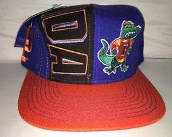 Vintage Florida Gators Snapback hat cap NCAA college football 90s deadstock rare tebow
