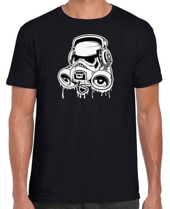 Star Wars Rogue One Storm Trooper Boom Box T-Shirt