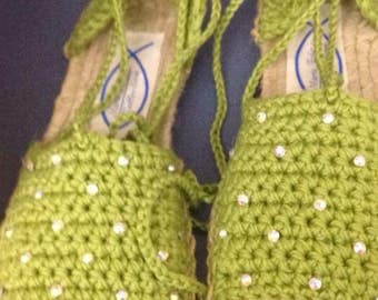 Crochet Espadrille