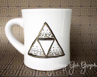 TriForce Patterned Design Mug