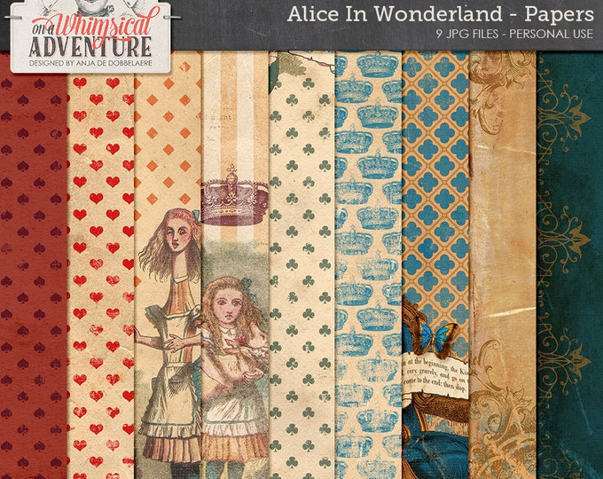 alice in wonderland term papers After many, many requests to combine all (4) designs of my wonderland paper into a single package, it's finally here alice's adventures in.