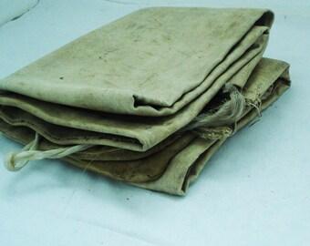 Old Cotton Sack/ Big Sack/ Fabric Sack / Vintage Sack / Rustic Bulgarian Sack / Countryside Linen / Upholstery / Hobo/Shabby Chic