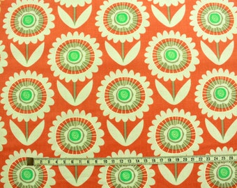 Fabric for Patchwork-flowers retro large