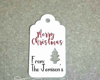 10 Personalized Christmas Gift Tags