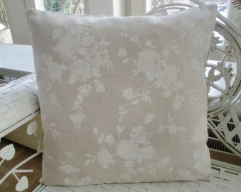Pillowcase rose tone on tone