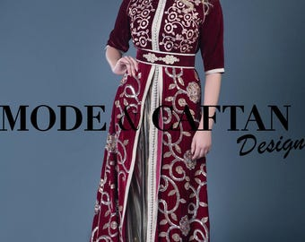 Beautiful Caftan velvet available in France, Europe and Usa