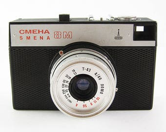 SMENA 8M Russian 35mm Film Camera Lomo lomography