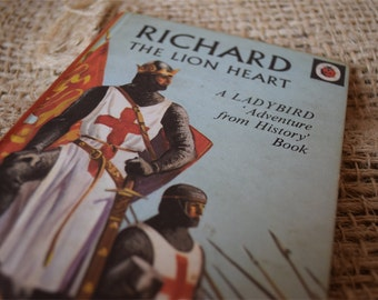 Richard the Lion Heart. A Vintage Ladybird Book. Adventures from History Book Series 561