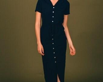 ACACIA NAVY DRESS