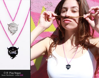 Queer Necklace - She