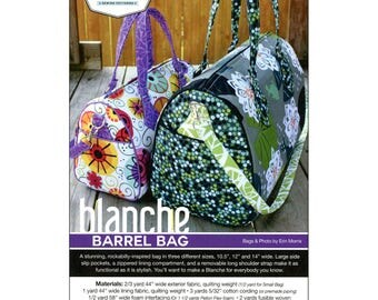 PATTERN - Blanche Barrel Bag by Swoon Sewing Patterns