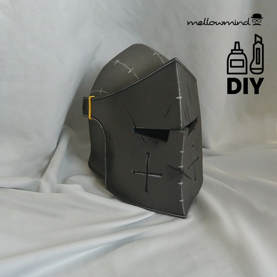 diy for honor warden helmet templats for eva foam from mellowmindcosplay on etsy studio. Black Bedroom Furniture Sets. Home Design Ideas