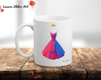 Magic Fight Dress Mug