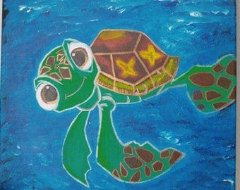 Squirt Canvas Painting