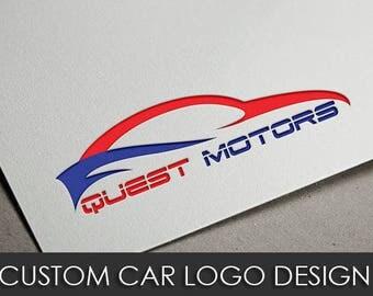 Custom Car Logo Design, Car Logo Design, Car Show logo Design, Car Business Logo Design, Model Car Logo