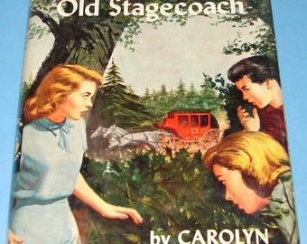 Nancy Drew #37 Clue in the Old Stagecoach 1st DJ