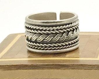 Ring ring 925 sterling Tibet silver man