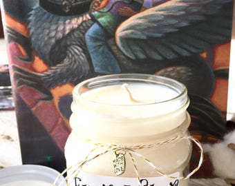 Harry Potter Butterbeer - 100% All Natural Soy Wax Candle