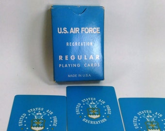 Litho Playing Cards/ United States Air Force Recreation/USA/Great Condition