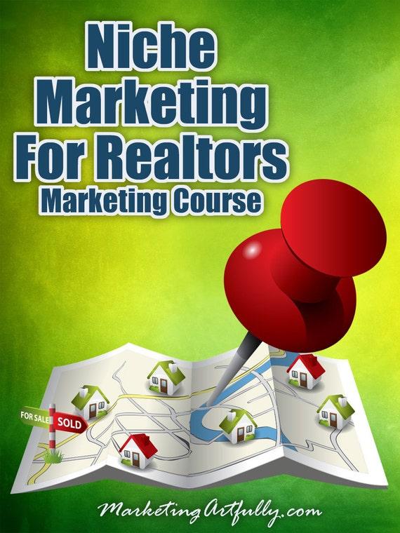 Niche Marketing For Realtors, Realtor Marketing Course, Real Estate Agent Farming, Realtor Training, Realtor Videos, Realtor Worksheets