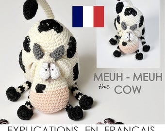 moo - Moo the cow - PDF French - crochet amigurumi