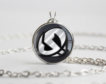 PKMN Alola Sun and Moon Team Skull Symbol Pendant