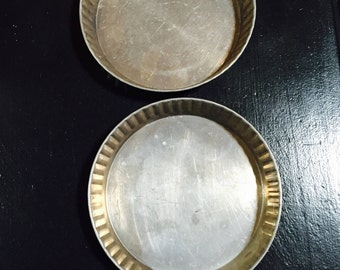 Two Shortbread Molds Vintage
