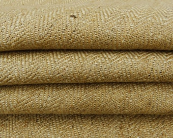"""Brown Jute Fabric, Brown Burlap, Natural Fabric, Rustic Decor, Burlap Fabric, Burlap Fabric, 50"""" Inch Fabric By The Yard ZJC40A"""