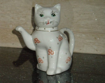 Chinese Cat Teapot