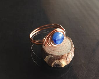 Kyanite Ring, Dainty Kyanite Ring
