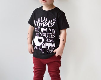 kids valentines day shirt toddler valentines outfit valentine shirts apple of my eye - Boys Valentines Shirt